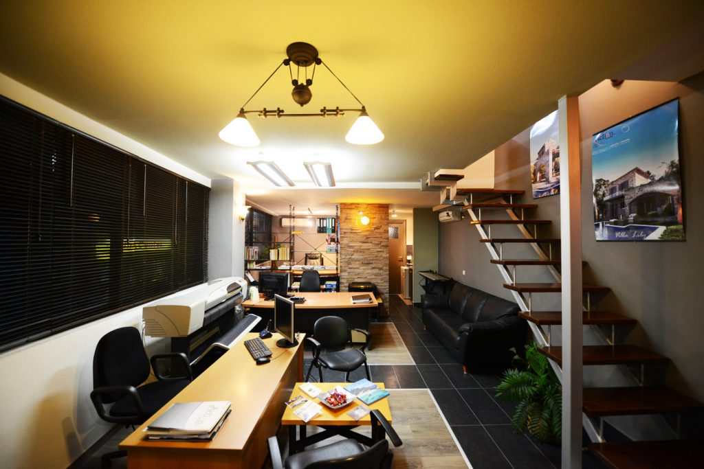 Action Office Interior