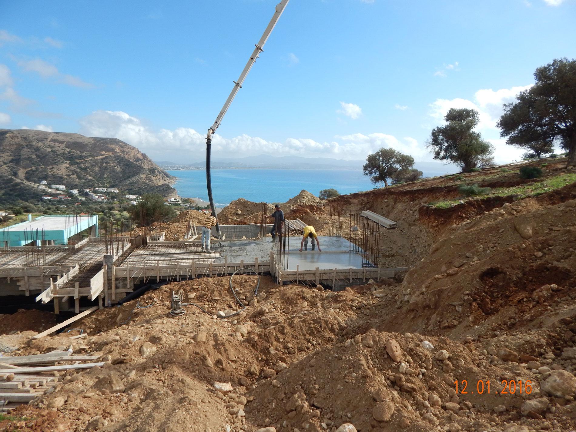 Galini Breeze Slabs Concrete Stage