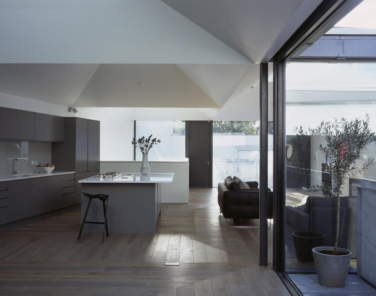 Wooden floor interior