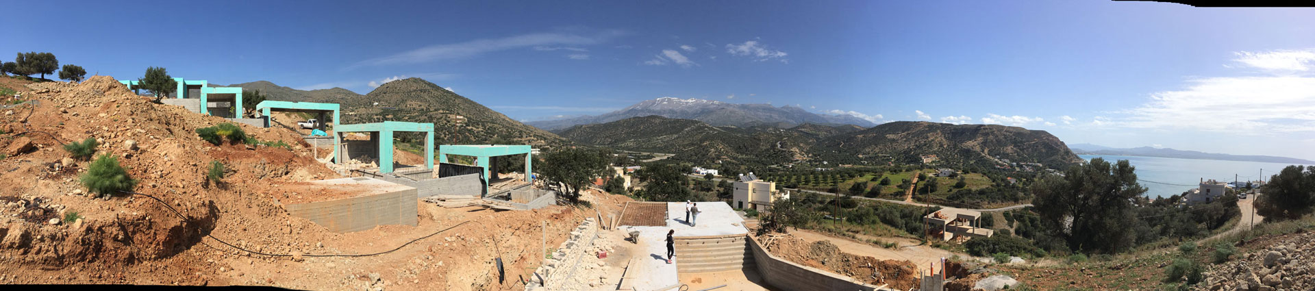 Panoramic View Galini Breeze Project