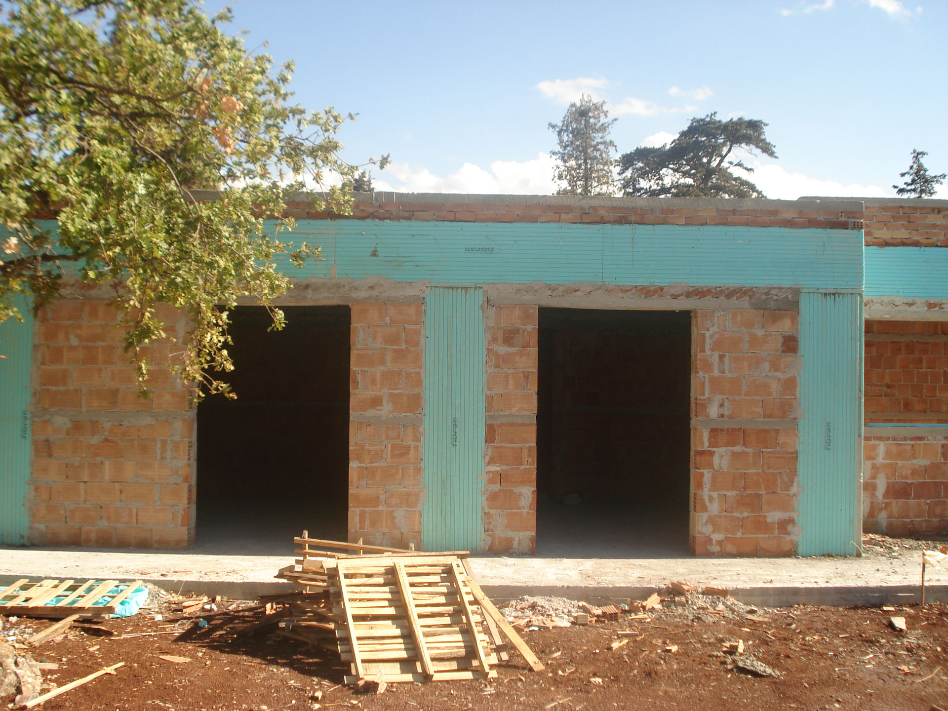 Chania Villa Maia Brick Wall