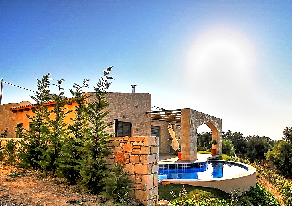 View Project Villa Sun Loutra Rethymno