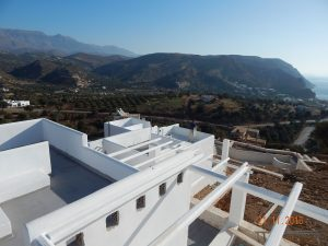 View-Mountain Sea Pergola Villa Prozect Agia Galini