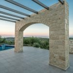 Sunset Pergola Villa Armonia Project Loutra