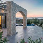 Sunset Pergola Villa Armonia Project Loutra