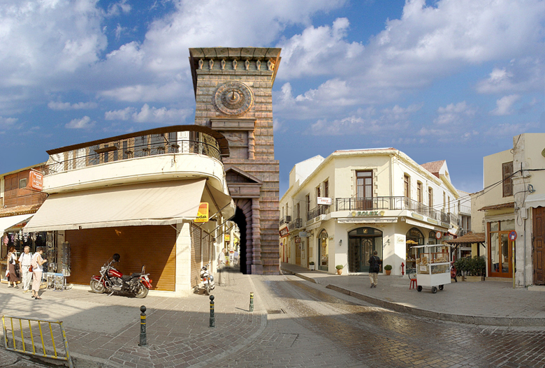 The Clock Tower Of Rethymno