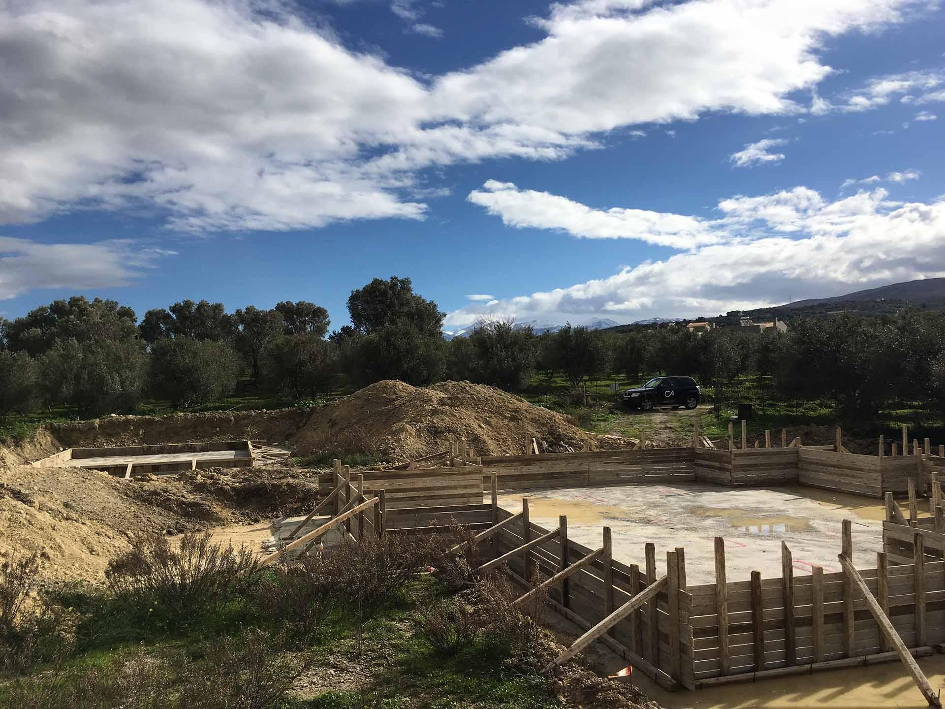 New Project Villa Excavation Agios Dimitrios