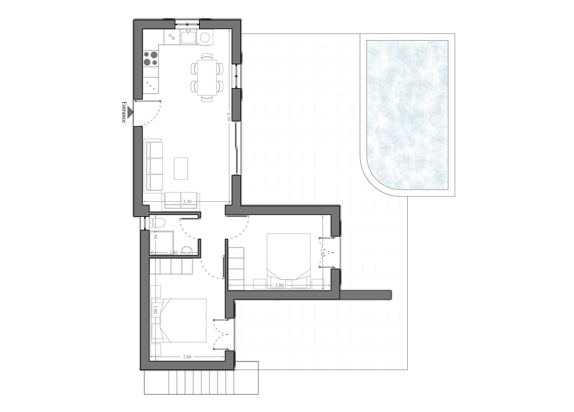 Villa Empos Ground Floor