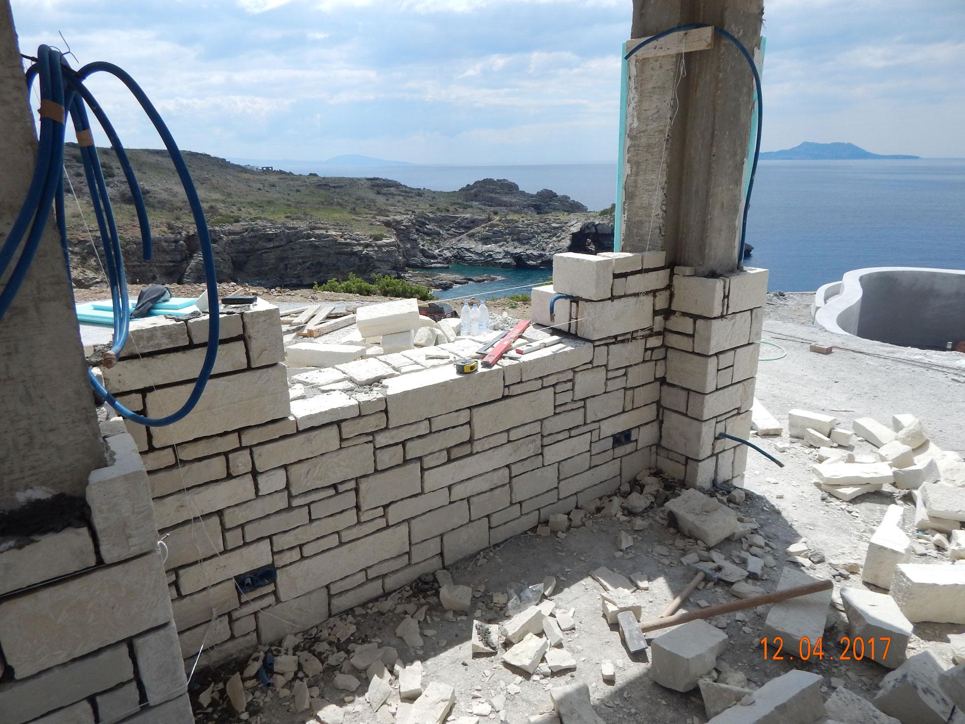 Agios Pavlos Crete Luxury Villa Stonewall