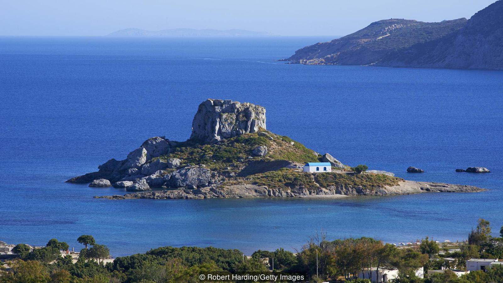 Kastri Island, Kefalos Bay, Kos, Dodecanese, Greek Islands, Greece, Europe