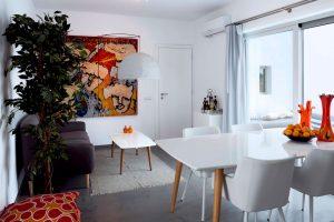 Galini Breeze villa living room