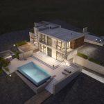 two storey villa