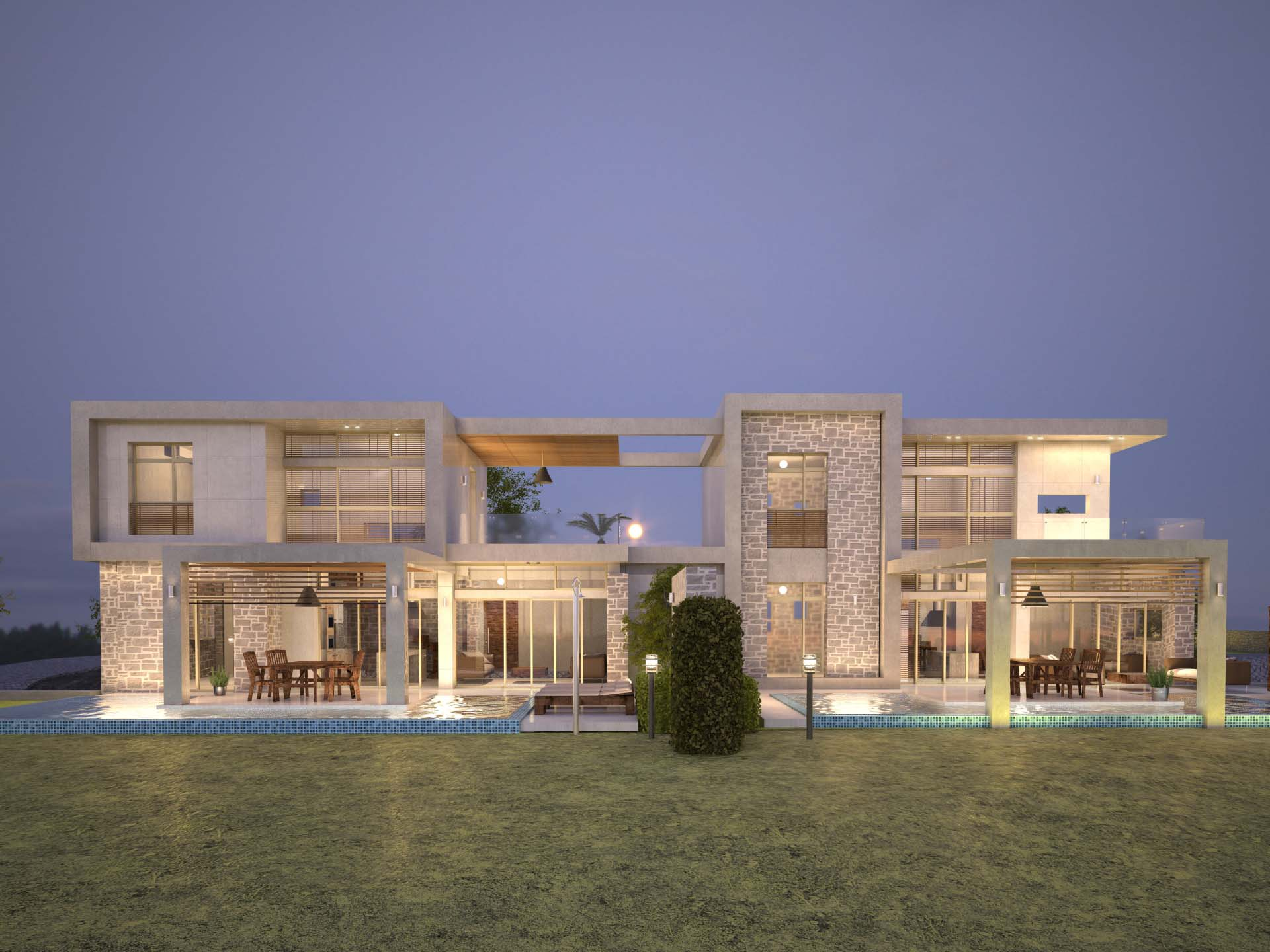 COMPLEX OF RENT VILLAS
