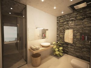bathroom Plakias hotel Rethymno