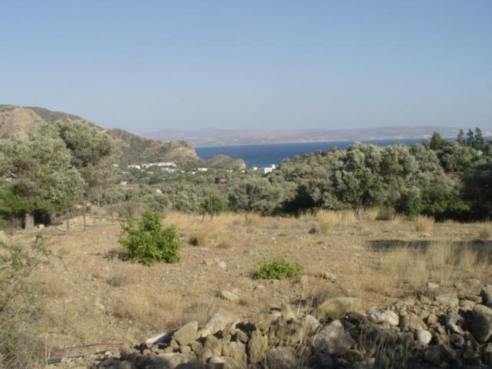 BUILDING PLOT WITH SEA VIEW IN AGIA GALINI